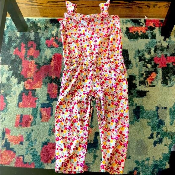 3T Floral Crazy 8 Jumpsuit